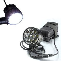 DCLICK High Quality Super Bright 7X Cree XML2 LED Bicycle Light Headlight Headlamp 10000LM Bicycle LED Flashlight with Rechargeable 84V 12000mAh Battery Pack Charger for Outdoor Riding CampingHunting Fishing and Other Activites Mode2 -- Check out this great product.Note:It is affiliate link to Amazon.