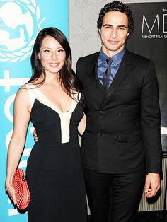 Star Tracks: Friday, June 27, 2014 | FASHIONABLE FRIENDS | Lucy Liu finds a little star support in fashion designer Zac Posen during the premiere of Meena, a film she co-directed about sex trafficking, in New York City on Thursday.