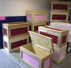 Handmade Wooden Toy Box / Hope Chest  Cherry by HandmadeByJohnson, $149.99