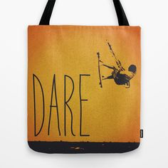 Dare Tote Bag by #Nuam We Are Young, Dares, Reusable Tote Bags, My Love, Random, Artist, Stuff To Buy, Products, Artists