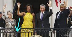 A esposa do primeiro ministro de Cingapura usou uma bolsa de (acredite) 15 dólares