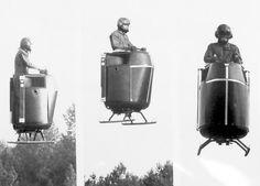 """""""The Flying Pulpit"""", 1970s  вот он, так я себе его и представляла, хочу такой"""