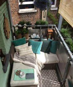 Küçük Balkonları Güzelleştirmek Için Öneriler
