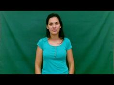 Lengua de Señas - Instituto de Idiomas: Nivel 2: Meses del año V Neck, Videos, Tops, Women, Fashion, 2 Months, Sign Language, Moda, Fashion Styles
