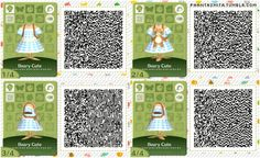 Beary Cute - Animal Crossing qr codes - Animal Crossing - Welcome Haar Design Animal Crossing Guide, Animal Crossing Qr Codes Clothes, Acnl Paths, Motif Acnl, Ac New Leaf, Motifs Animal, Happy Home Designer, Post Animal, Animal Games