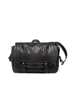 Zara | Tumbled Messenger Bag