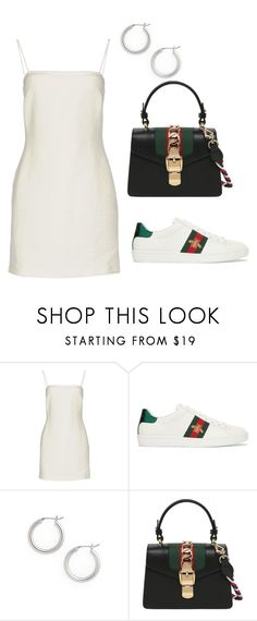 """Untitled #21"" by edenfeleke ❤ liked on Polyvore featuring Bec & Bridge, Gucci and Halogen"