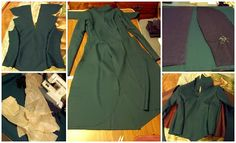 Beth's Costume: Adventures of An Elven Princess: #Tauriel #Cosplay - Dress Partly Completed