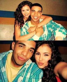 drake and nina dobrev #degrassi
