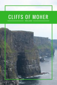 The Cliffs of Moher are considered a natural wonder of the world and one of Ireland's most visited tourist sites. These stunning cliffs give you fabulous views of the Irish Coast and the Atlantic Ocean.