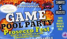Masseria Casacapanna | GAME Pool Party Happy Hour http://affariok.blogspot.it/