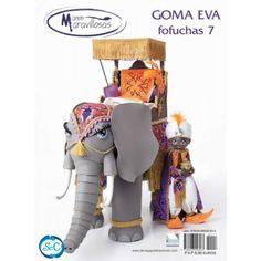 Revista Goma Eva Manos Maravillosas Fofuchas 3d N