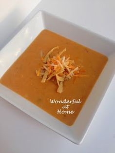 Wonderful at Home: Chicken Tortilla Soup - A Max & Ermas Copy!