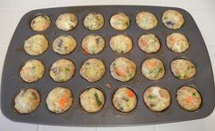 Shelly's Chicken Pot Pie Bites lowcarb, healthy
