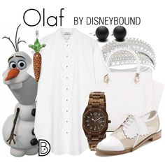 Olaf by leslieakay on Polyvore featuring Acne Studios, F-Troupe, Earth, Thomas Sabo, Swarovski and Hring eftir hring
