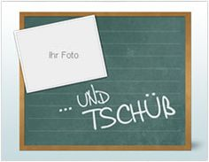 Abschieds-Collage