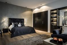 30 Beautiful Bedrooms That Are The Epitome Of Sophisticated Style Luxury Bedroom Furniture, Room Decor Bedroom, Modern Bedroom, Luxury Bedding, Master Bedroom, Bed Room, Furniture Nyc, Furniture Movers, Furniture Outlet