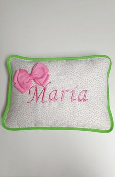 Bed Pillows, Pillow Cases, Embroidered Cushions, Custom Cushions, Filing Cabinets, Hand Made, Pillows