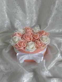 "Blanche Fleur virágdoboz - ""Peach dream"""