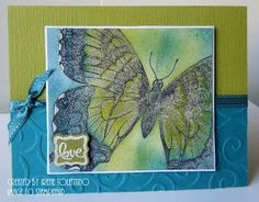 Swallowtail Love Card Stampin Up