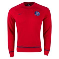 439a4bf09e4e8 Nike Paris Saint-Germain AW77 Long Sleeve Crew 2016