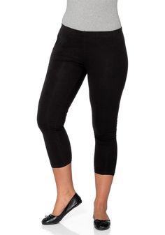Typ , Leggings, |Materialzusammensetzung , 95 % Baumwolle, 5 % Elasthan, |Länge , 7/8-Länge, |Innenbeinlänge , ca. 63 cm, | ...