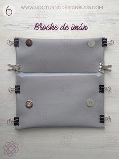 DIY: Bolso sin costuras + molde gratis. – Nocturno Design Blog Design Blog, Coin Purse, Purses, Wallet, Diy, Bag, Zapatos, Home Crafts, Tutorials