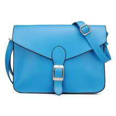 BangGood - Eachine1 Women PU Leather Retro Candy Color Square Belt Decorated Crossbody Bags - AdoreWe.com