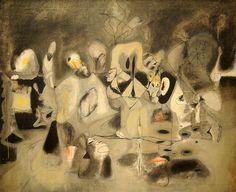 Arshile Gorky. Diary of a Seducer. 1945. MoMA, NYC