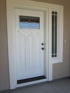 The front door... {Welcome}