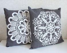 winter garden pillow cover no. 9 от Tuuni на Etsy