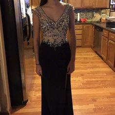Custom Made Prom dress, Long Prom Dresses ,Evening Dresses, Long Party Dresses, Sexy Party dress, prom dress,Beading dress ,Graduation dresses