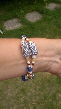 Krobo bead bracelet.