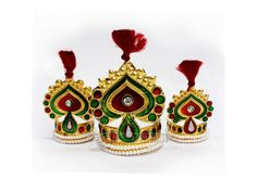 Paan Mukut for God and Goddess buy online from India