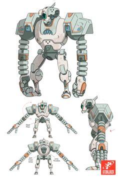 Dev Blog: Designing a Heroic Robot — AtomJack