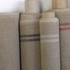 100 % Linen cloth, natural - Un Esprit En Plus Linen Tablecloth, Deco Design, Material Girls, Neutral, Linen Cloth, Textiles, Couture, Pillows, Blankets
