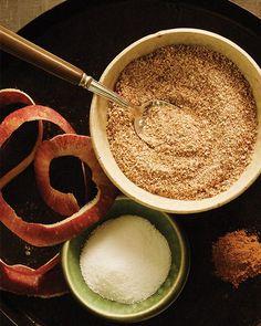 Apple Pie Flavored Sugar - http://www.sweetpaulmag.com/food/apple-pie-flavored-sugar #sweetpaul