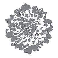 Definitely Dahlia Wood-Mount Stamp Set by Stampin' Up!