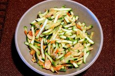 quick zucchini sauté - I just made this and it's really good :)