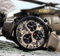 "Alpina Watches Startimer Pilot Chronograph Big Date ""La Legión"" limited edition…"