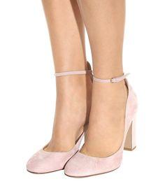 mytheresa.com - Tan-Go Suede Pumps » Valentino - mytheresa - Luxury Fashion for Women / Designer clothing, shoes, bags