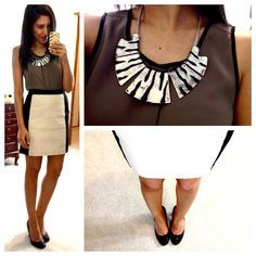This girl posts her outfits for work and where to get the pieces.....she dresses super cute!