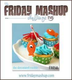 The Friday Mashup!: FM158 Cards for Kids.. Big or Small, using the colors Tempting Turquoise, Real Red, Pumpkin Pie, Wild Wasabi & Any Neutral of your choice.
