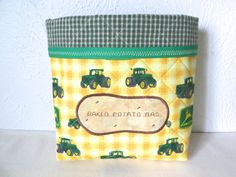 Microwave Baked Potato Bag by ThreadBasket on Etsy