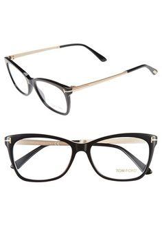 womens tom ford 54mm optical glasses
