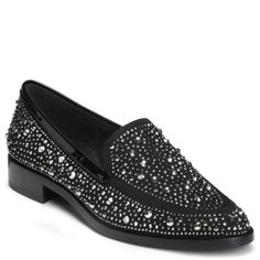 0f993a1d1b Aerosoles East End Studded Loafers - Black Studded Loafers, Comfy Shoes,  Most Comfortable Shoes