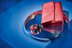 Amp up your look for the party with bright accessories from BOSS