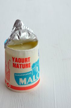 Yaourt Malo, lovely packaging