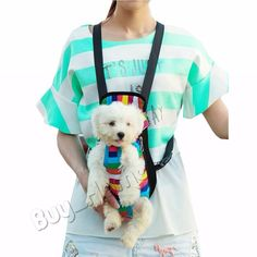 Puppy Portable Carrier Portable Dog Cat Outdoor Pet Backpack Carrier Travel Bag in Pet Supplies, Dog Supplies, Carriers & Totes   eBay