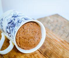 Easy 3-Minute Coconut Flour & Chocolate Mug Cake - GF & Paleo | GoodnessGreen